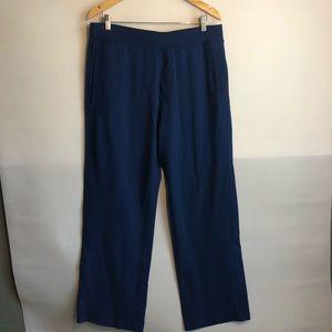 LULULEMON Kung Fu Pants Blue XL Tall Drawstring